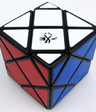 大雁 斜四 四軸四階六面體 黑色魔術方塊異形益智玩具 魔方