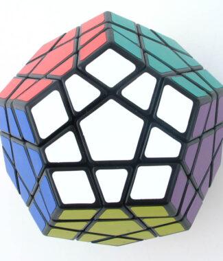 聖手 三階五魔方 megaminx 黑色 白色 魔術方塊 速解 3階 魔方 mega 異形