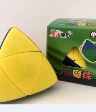 聖手二階 魔粽 彩色 異形 魔術方塊 2階 粽子 玩具 遊戲 無貼紙