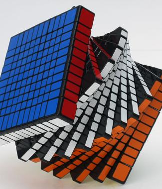 聖手 方形 11階 魔術方塊 高階 十一階 速解 魔方