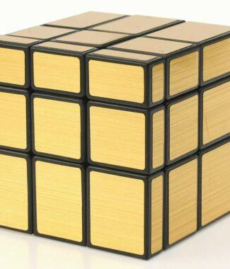 智勝裕鑫冰麒麟 鏡面 PP盒裝 天藍色無貼紙三階 3階速解異形魔方 玩具 送底座