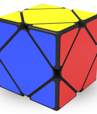 奇藝魔方格 啟程 魔術方塊 skewb 斜轉 速解 魔方 SK 6色 六色