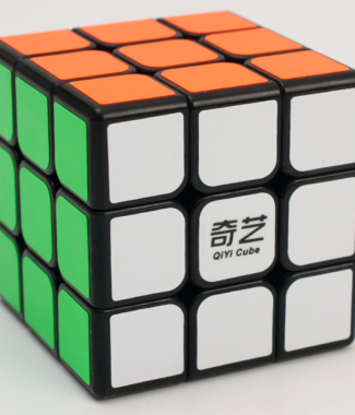 FO 魔方格啟航 三階魔術方塊大啟航 68mm 3階速解 黑色 魔方 益智玩具 解謎