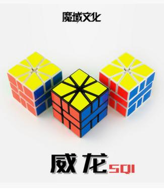 威龍SQ-1 魔域SQ1 速解異形魔方 永駿塑膠玩具 SQ 永駿文化