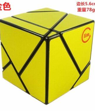 方是鬼魔方二階黑底金色銀色2階 ghost cube 異形魔術方塊