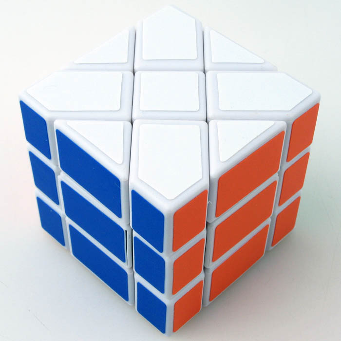 FO永駿移稜黑色白色三階概念魔術方塊 3階魔域 異形 魔方
