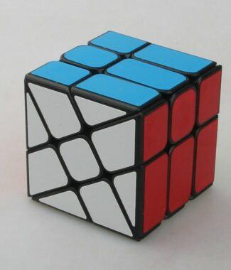 FO 永駿風火輪黑白色三階概念魔術方塊 3階魔域 異形 魔方