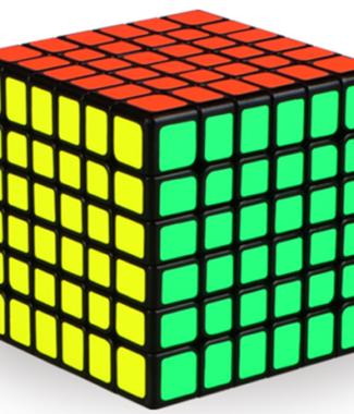 奇藝魔方格 無華 六階 魔術方塊 新品 高級 速解 魔方 防錯層 67mm 小尺寸