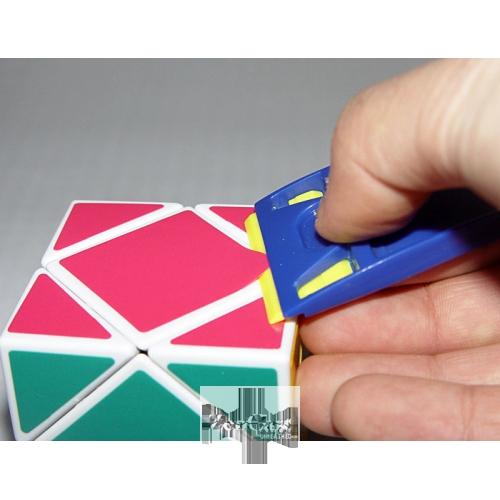 藍藍起貼器 魔術方塊斯貼紙工具 魔方換貼紙 配件
