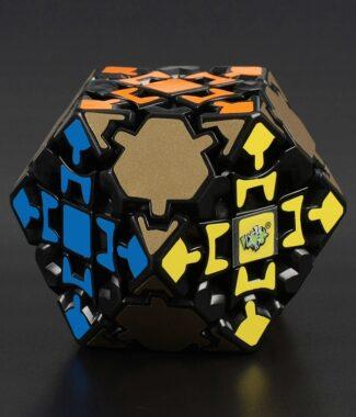 藍藍齒輪十四面體 黑色 異形 魔術方塊 14面體 魔方 益智玩具