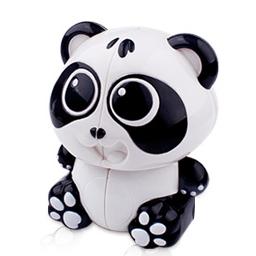 FO 裕鑫智勝熊貓二階魔術方塊異形圖案魔方 2階 可愛送禮物品