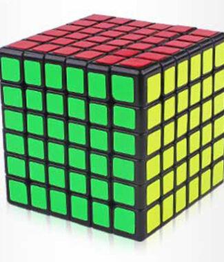 智勝裕鑫紅麒麟六階黑白色魔術方塊 6階速解魔方 6*6