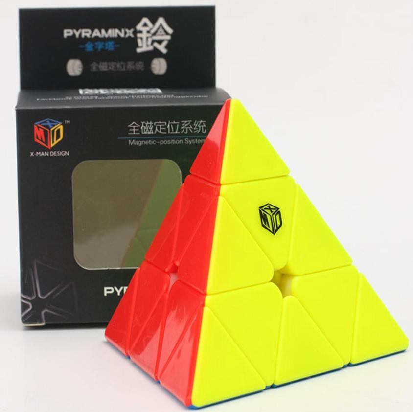 FO 奇藝魔方格 鈴塔 XMD 三階金字塔 磁力定位 pyraminx 3階 bell 4色 六色 6色