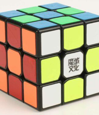 永駿魔域唐龍三階黑白色魔術方塊 3階速解魔方