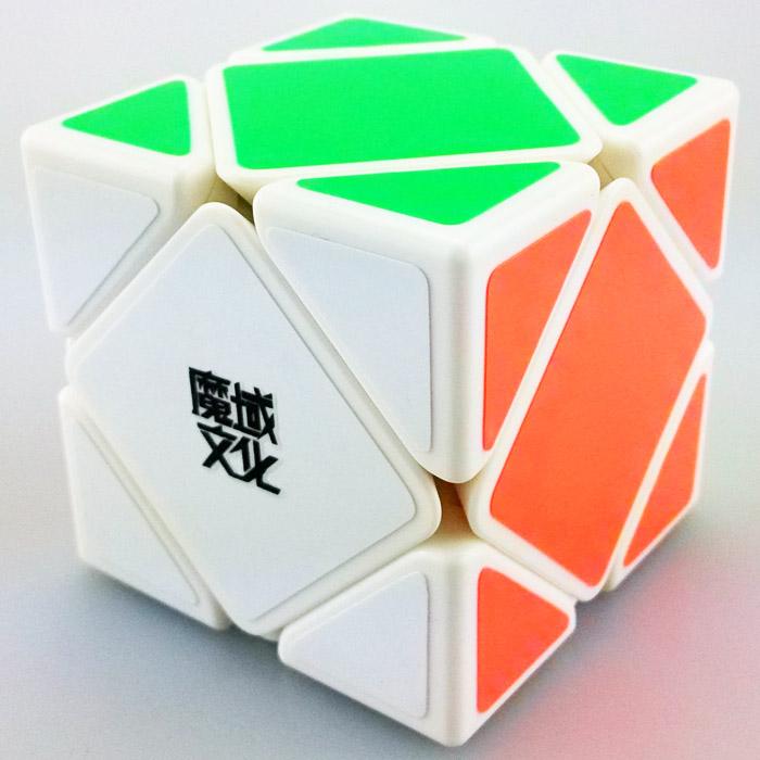 FO 魔域斜轉黑白色 魔術方塊 skewb 速解魔方 SK 異形 三階斜轉 速解