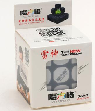 奇藝魔方格 雷神 三階 黑白色 魔術方塊 3階 3*3 速解 魔方 益智玩具