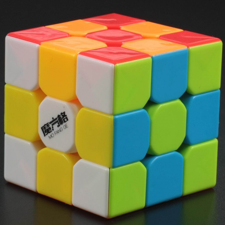 FO 奇藝魔方格雷霆黑色白色魔術方塊三階 3階速解 CP值高 魔方 益智玩具