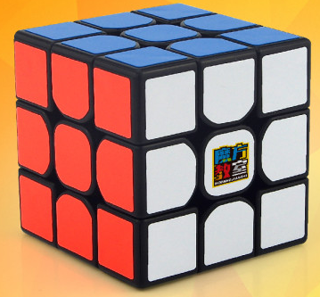 FO 魔方教室 MF3RS 魔術方塊 三階 3階魔方速解 魔域 無貼紙 彩色 六色 6色 MF3