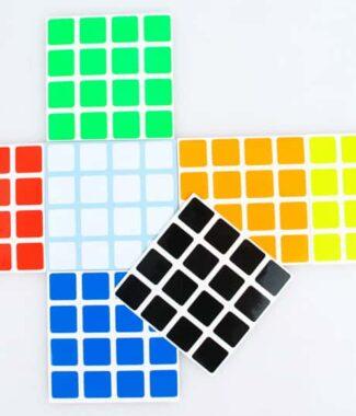 魔術方塊Z貼 聖手四階Z亮普亮半亮貼紙 4階魔方專用