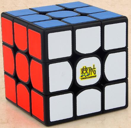 停賣 燕城 三階 yan3 彩色 六色 無貼紙 6色 yan 3 魔術方塊 速解魔方 益智玩具 永駿文化 燕成
