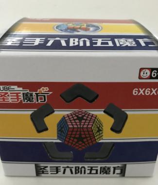 聖手六階五魔方 魔術方塊 異形玩具 原廠貼紙 megaminx