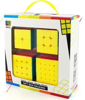FO 魅龍 魔方教室 禮盒裝 二階三階四階五階 速解 魔方 2階 3階 4階 5階 彩色 魔域