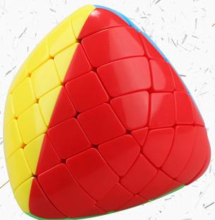 聖手 魔粽五階 彩色 魔術方塊 概念方塊 5階 無貼紙 異形 粽子 四色 六色