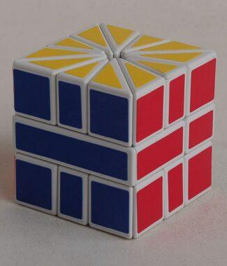 梯色 SQ2 SQ-2 異形魔術方塊 扇形魔方速解玩具