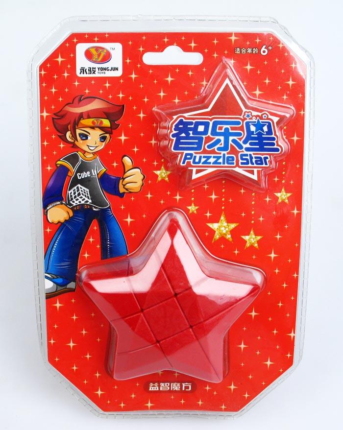 永駿五角星 三階概念魔術方塊 星星 魔方 3階 變形 智樂星 魔域文化 5角星 造型