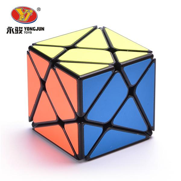 永駿變幻金剛 黑色 白色 三階概念方塊 魔術方塊 3階 幻變金剛