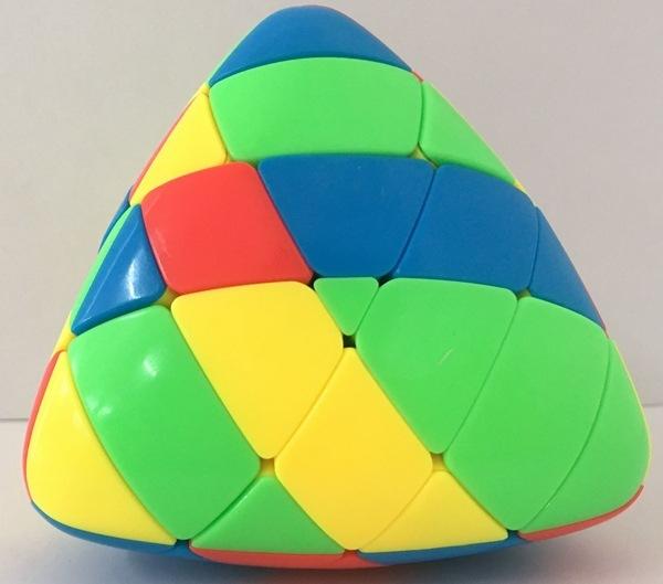 FO 聖手 魔粽四階 彩色 魔術方塊 概念方塊 4階 無貼紙 異形 粽子 四色 六色