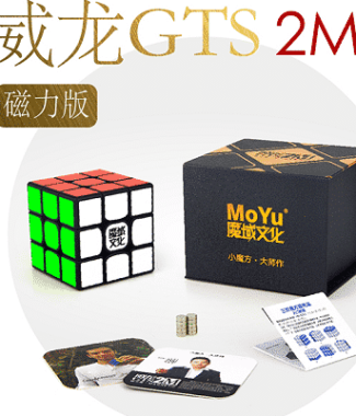FO 魔域 威龍GTS2M 磁力定位 魔術方塊 三階速解魔方 永駿文化 GTS 2 M
