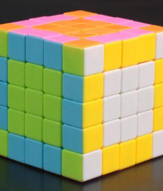 FO 啟征S 彩色 奇藝魔方格 五階 魔術方塊 速解魔方 5階 啟征 S 益智玩具