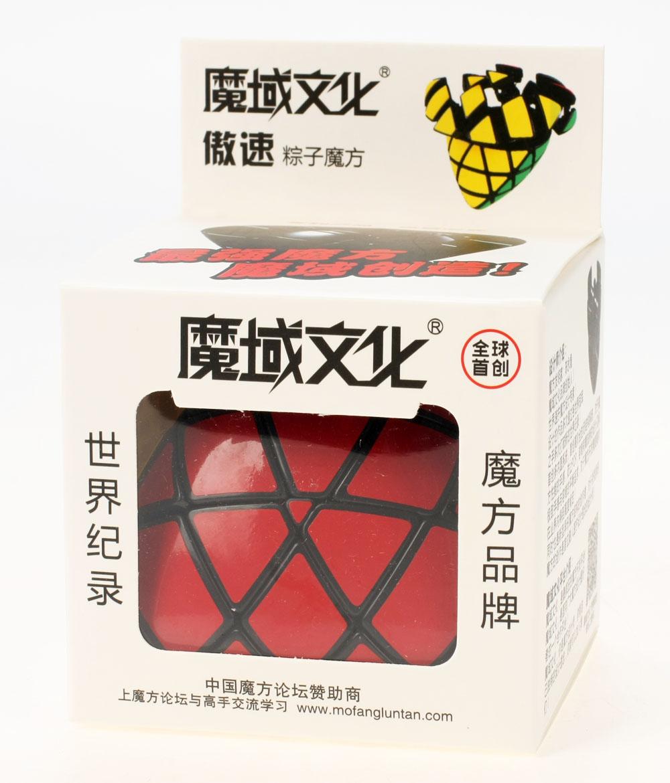 魔域 傲速粽子 魔粽 四階概念方塊 四階 異形 黑色 異形玩具 永駿文化