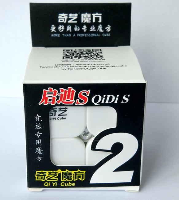 FO 奇藝魔方格 啟迪 二階魔術方塊 2階速解魔方 啟迪S S 2*2 益智玩具