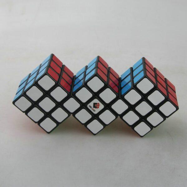 梯色三連三魔術方塊黑2