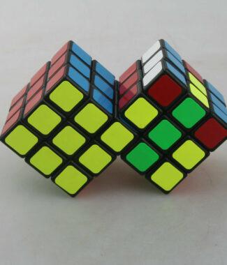 梯色 三階二連三連體魔術方塊 CT 限制旋轉 異形魔方 2連3