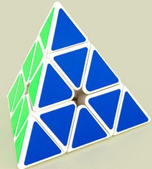 魔方教室金字塔白