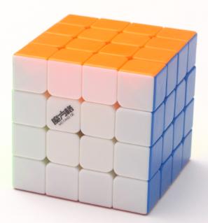 FO 奇藝魔方格小雷霆四階 60mm 魔術方塊 4階 速解 魔方 益智玩具 6.0CM