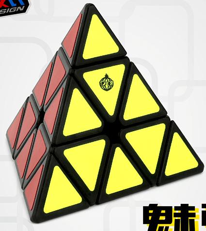 FO 洋蔥魅馳金字塔三階 彩色 魔術方塊 3階 pyraminx 祈禱塔 異形速解魔方 魔域