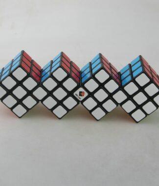 梯色 三階四連三連體魔術方塊 CT 限制旋轉 異形魔方 益智玩具 動腦