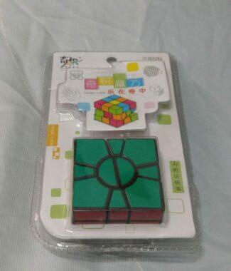 奇積二層 SQ 黑色 奇蹟 QJ 2層 二層SQ 異形 變形 不等階 魔術方塊 益智玩具
