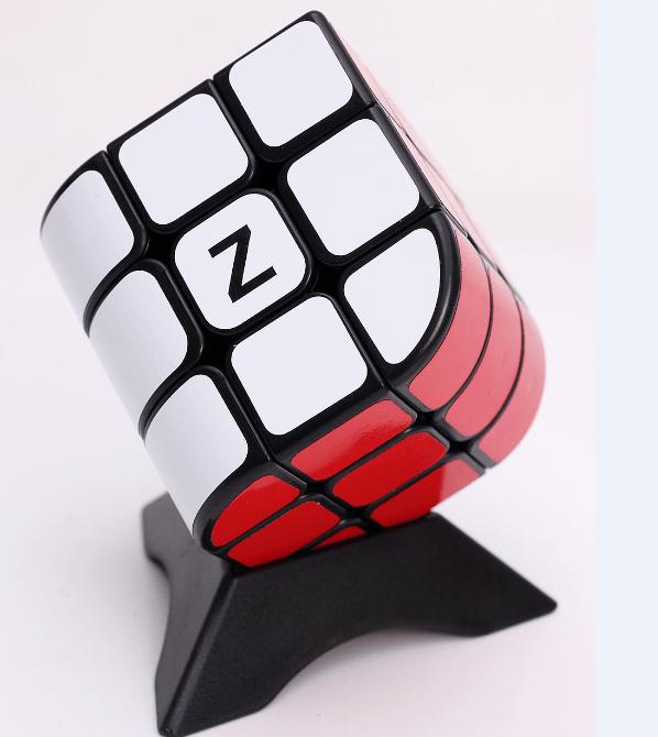 Z-cube 三階三面體 魔術方塊 3階速解魔方  Z cube 三種顏色 紅白藍 三階概念 黑色 白色 碳纖維 彩色