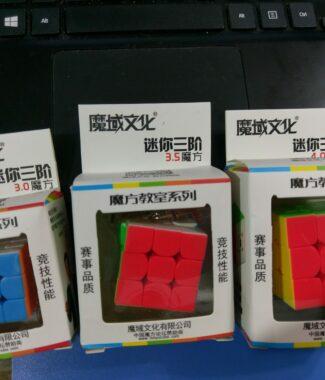 FO 魔方教室 鑰匙圈 三階 mini MF 3階 可愛 魔域文化 永駿文化 30mm 35mm 40mm