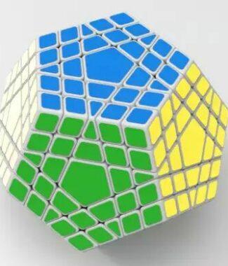 FO 聖手五階五魔方黑色 異形魔術方塊 5魔方 5階 玩具 puzzle 解謎 megaminx mega
