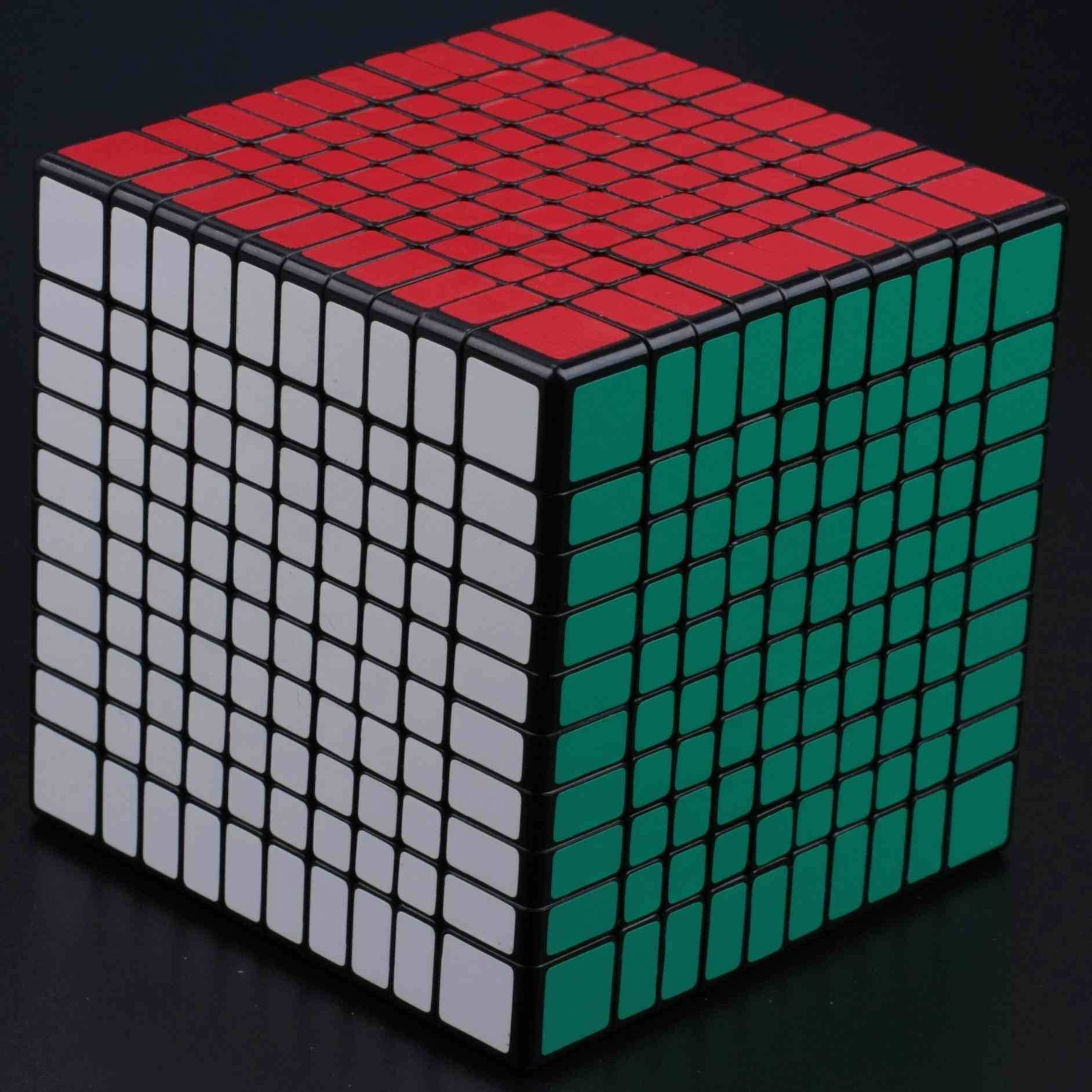 FO 聖手 十階 黑色魔術方塊 10階 速解 SS魔方 無備用貼 高階