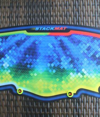 speed stacks 計時器專用墊子 8號 紅綠色 大墊 魔術方塊 疊杯 專用 八號 SS