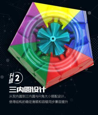 FO 智勝裕鑫 小魔法二代 三階五魔方 megaminx 速解魔術方塊 異形 mega 2代