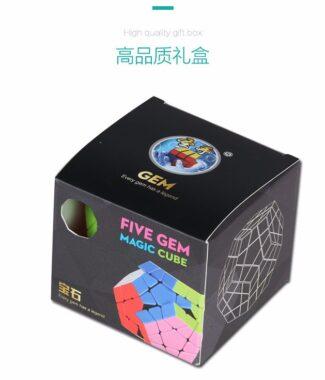 FO聖手寶石三階五魔方 megaminx 速解魔術方塊 異形益智玩具魔方 mega