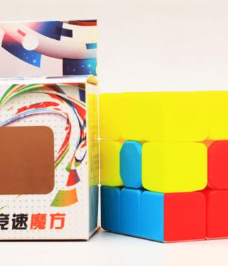 Z-cube 凹凸魔方 教學 新手 第一層 造型三階 速解 魔方 魔術方塊 3階 益智玩具 Z cube